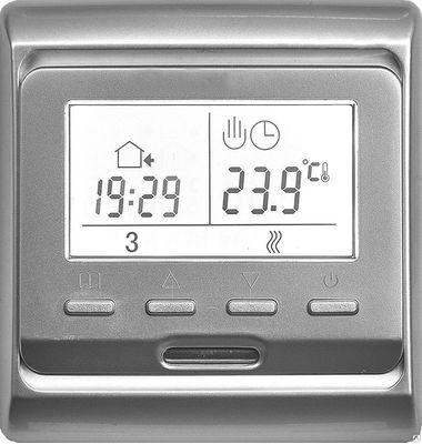 Терморегулятор E 51.716 цвет серебро