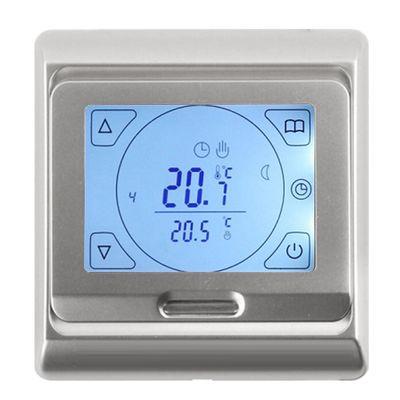 Терморегулятор E 91.716 цвет серебро