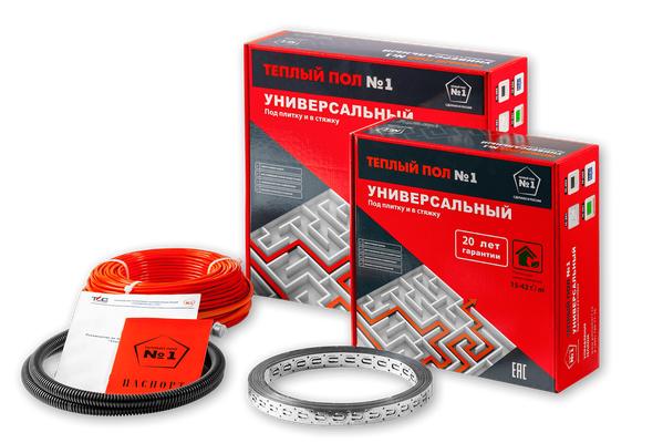 Универсальный кабель под плитку и в стяжку Теплый пол №1 СТСП-1200